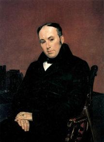 Портрет Василя Жуковського роботи Карла Брюллова.