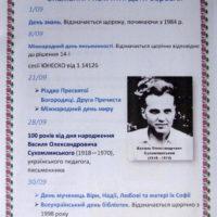 Січень. Календар знаменних і пам'ятних дат на 2018 – 2019 навчальний рік